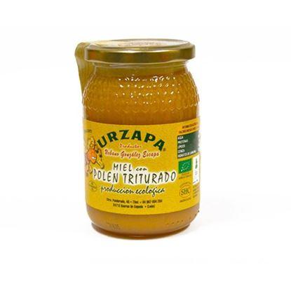 Miel con Polen Triturado